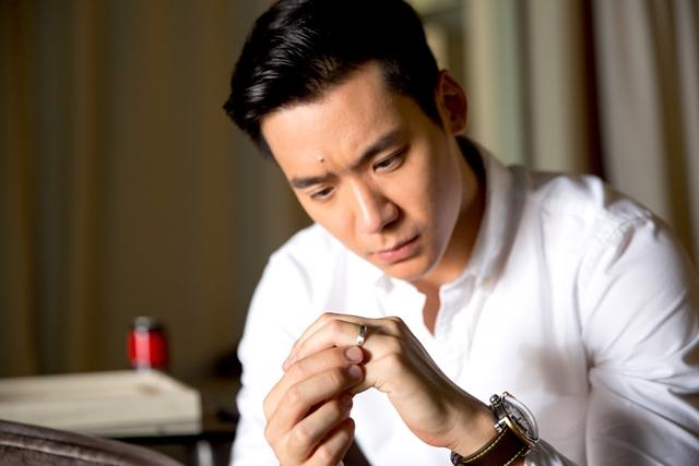 """""""阿Boy""""陈伟恩在《爱在小红点》中面对婚姻问题。(mm2提供)"""