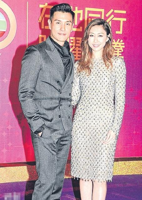 陈展鹏和胡定欣(右)是下个月香港视帝、后的大热门。(互联网)