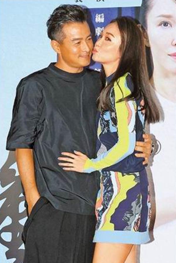 李铭顺与范文芳在台北晒恩爱。(互联网)