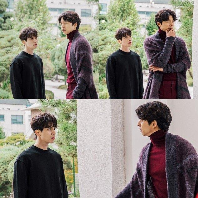 李东旭(左)与孔侑在《鬼怪》中精彩演出。(互联网)