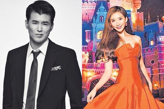 (左)杨仁沛是标准的高富帅。(右)林志玲拍摄迪士尼慈善年历, 有爱情滋润的她更加美艳动人。(互联网)