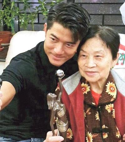 郭富城完成终身大事,相信最开心就是郭富城的妈妈!