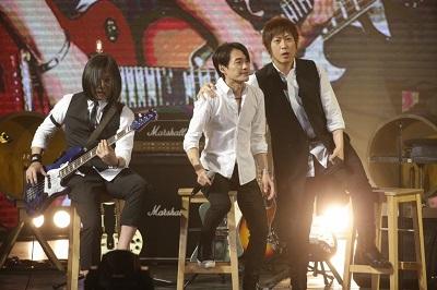 四分卫阿山现身五月天演唱会。