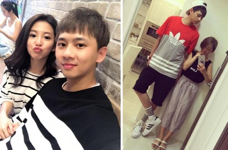 郭书瑶与男友金阳交往4年。
