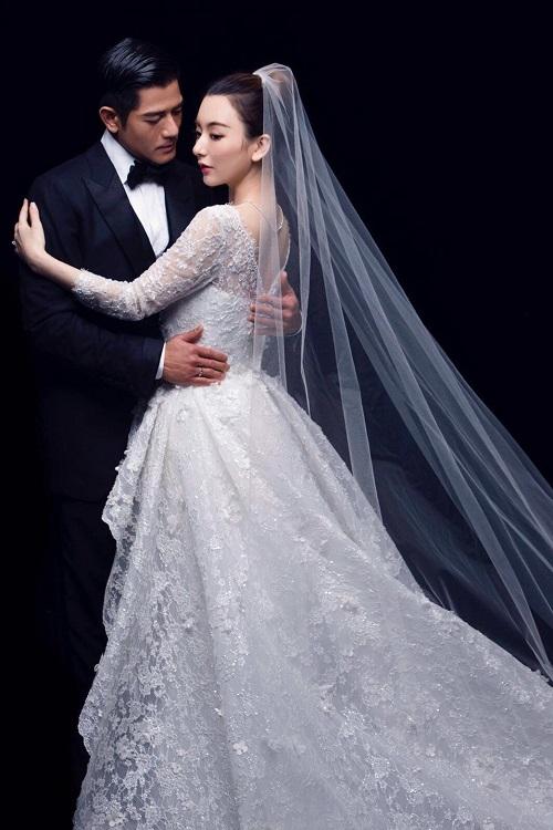 郭富城和方媛的婚纱照。(小美工作室提供)