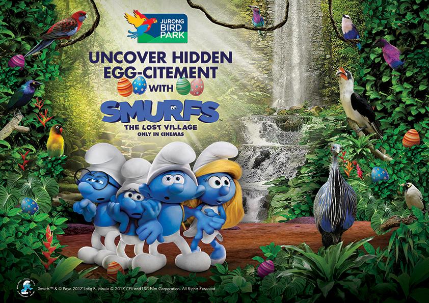飞禽公园迎来Smurf