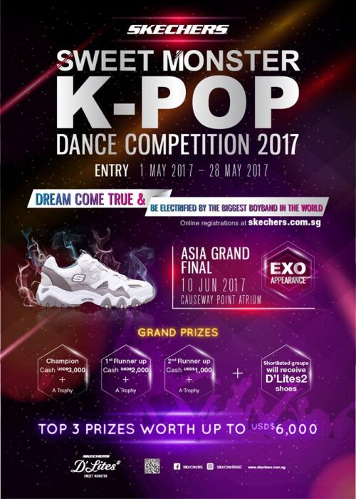 dance competition poster