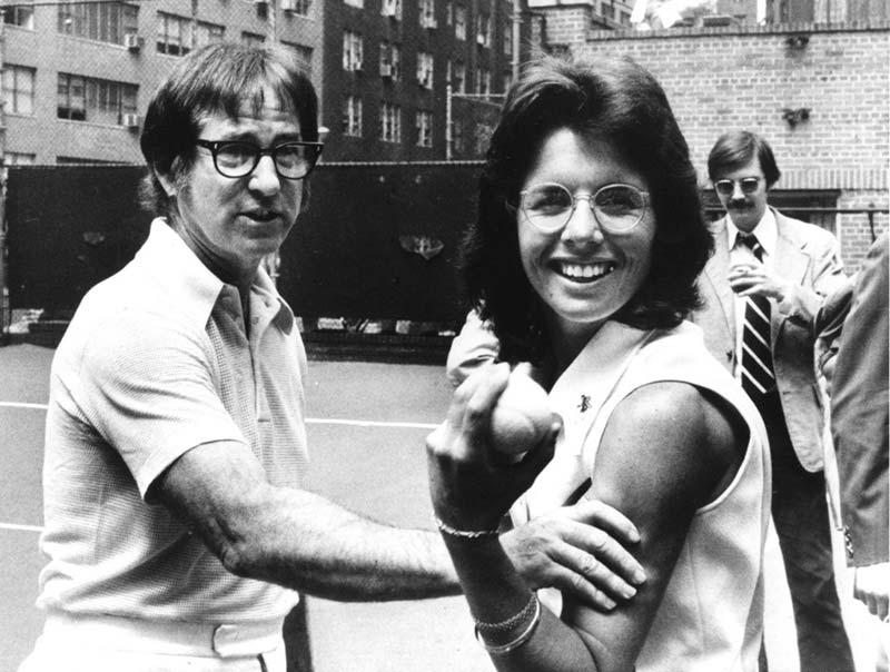 Bobby Riggs与Billie Jean King