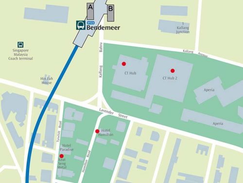 MRT-623-Bendemeer-map